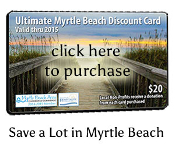 Myrtle Beach Ultimate Discount Card
